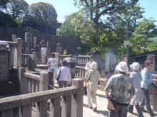 築地本願寺と泉岳寺参拝の旅