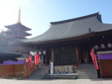 僧侶と巡る「高幡不動尊 参拝の旅」1