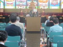 第三十回「坐禅・法話会」2