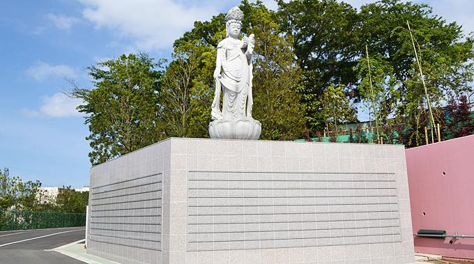 釈迦寺霊園観音堂合祀